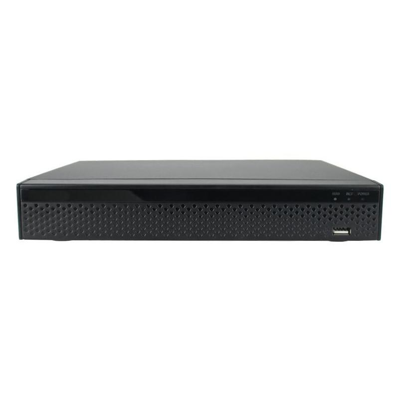 Nvr 16 canali 4k h.265 - poe integrato a 8 porte + 8 lan - NVR - Network Video Recorder | Lorwen.it