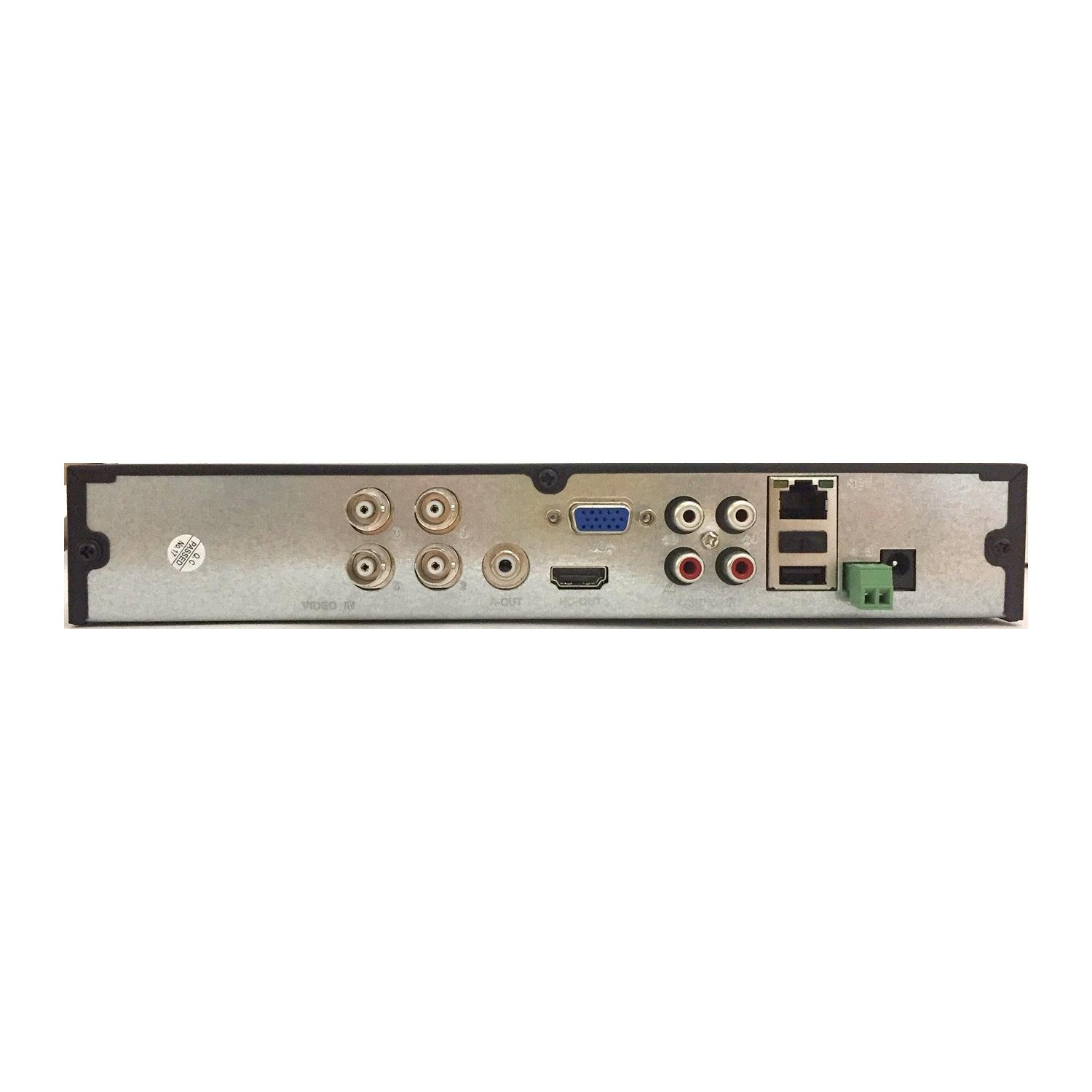 Xvr 4 canali ahd/cvi/tvi/ip 2m/5m lite  - NVR - Network Video Recorder | Lorwen.it