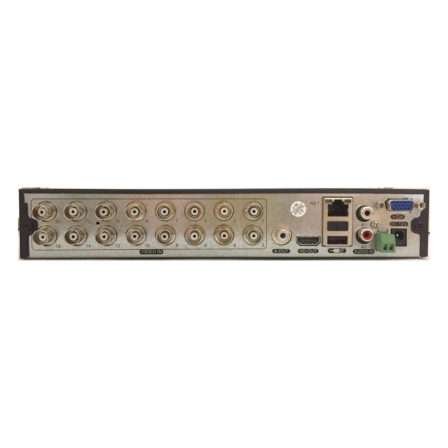 Xvr 16 canali ahd/cvi/tvi/ip 2m/5m lite - NVR - Network Video Recorder | Lorwen.it