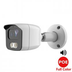 Telecamera bullet 3.6 mm 5 mpx sony full color poe e audio - TELECAMERE IP | Lorwen.it