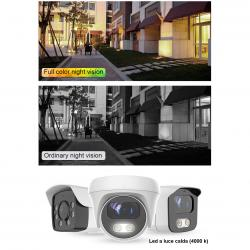 Telecamera dome 3.6 mm 5 mpx sony full color poe e audio - TELECAMERE IP | Lorwen.it